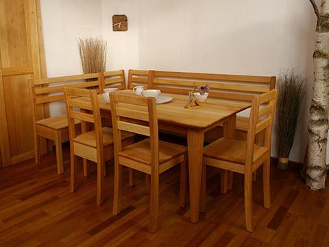 Tische, Stühle, Eckbänke Classic